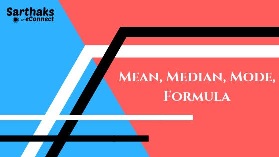mean median mode statistics