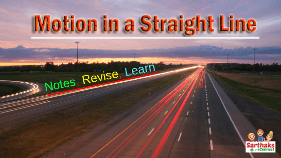 motion in a straight line chapter 2 class 11 ncert
