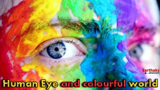 human eye and colourful world class 10