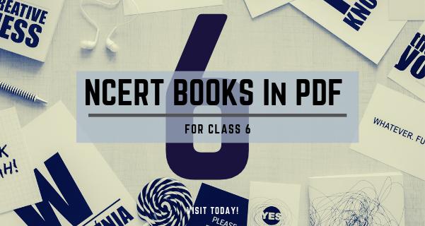 NCERT Books for class 6