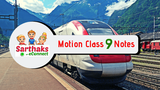 Motion class 9 notes