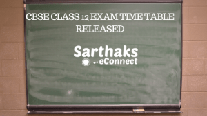 CBSE Class 12 Exam Time Table Released