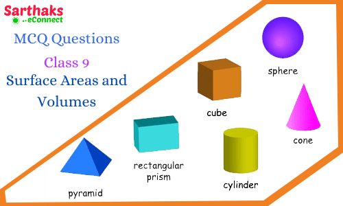 MCQ Questions Surface Areas and Volumes