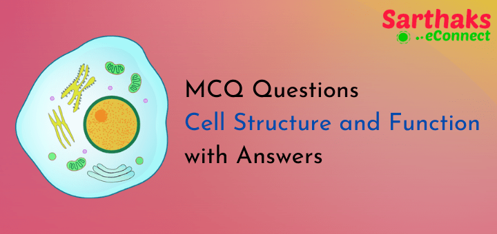 MCQ Questions of Cell Structure and Function with Answers