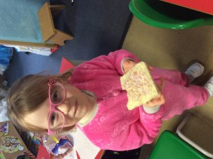 Fairy bread, yum.