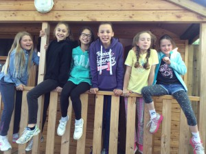 The cabins were very cosy.
