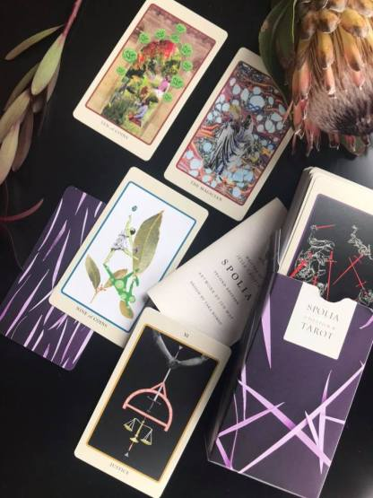 Intuitive Tarot live online the house of twigs event class THOT witchcraft