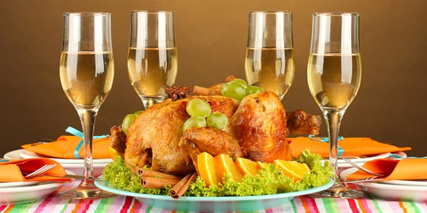 Wine & Turkey
