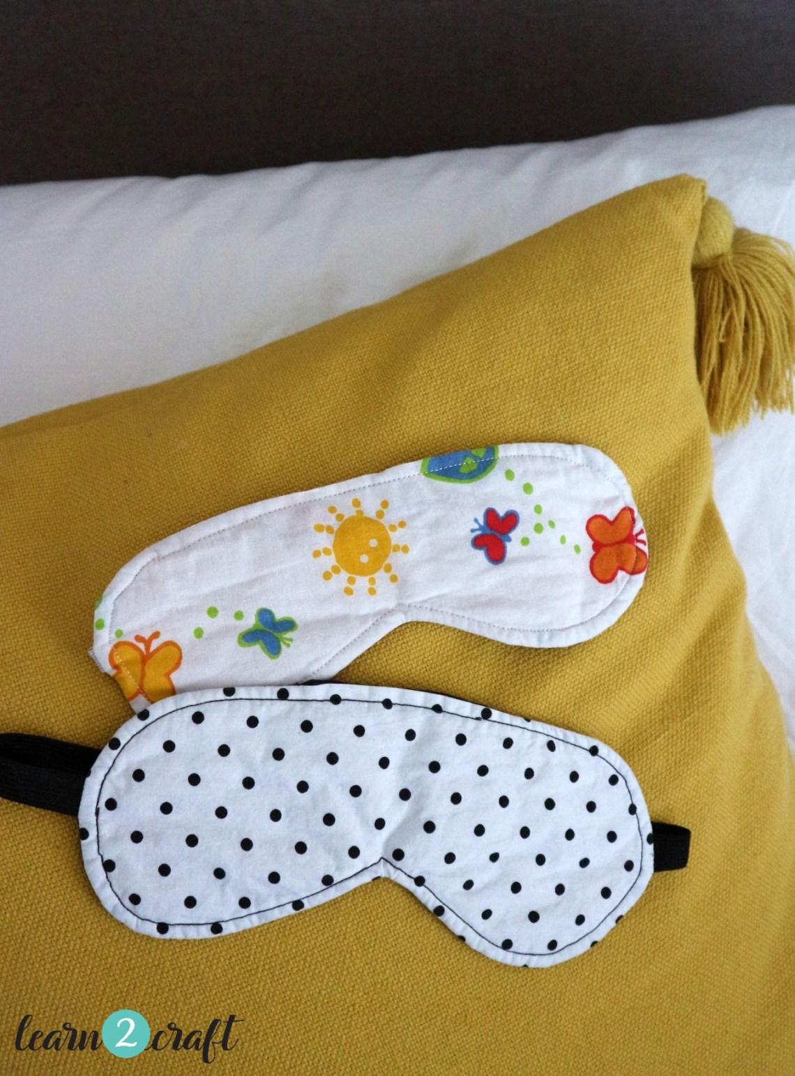 υφασμάτινες μάσκες ύπνου