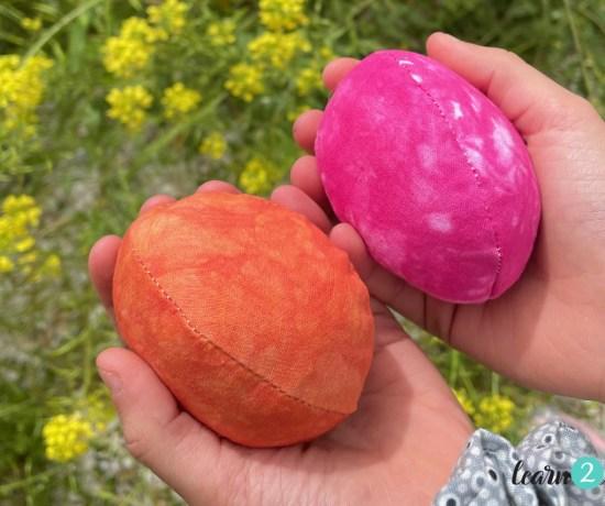 αυγά από ύφασμα