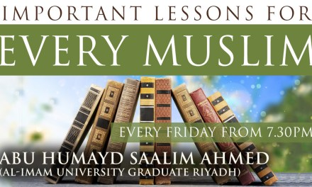 Important Lessons for Every Muslim – Islamic Mannerisms | Abu Humayd Saalim | Manchester