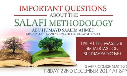 Important Questions About The Salafi Methodology- Part 4 | Abu Humayd Saalim | Manchester