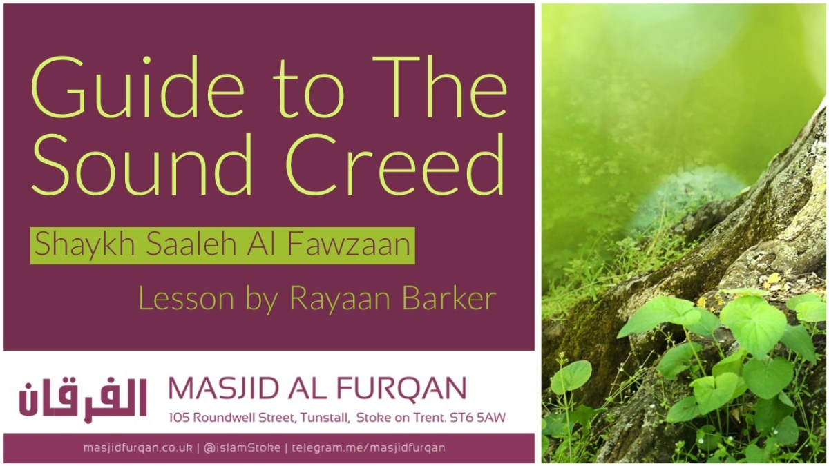 A Guide to the Sound Creed - Rayaan Barker - Stoke on Trent