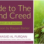 A Guide to the Sound Creed – Rayaan Barker – Stoke on Trent
