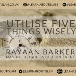 Utilise Five Things Wisely – Rayaan Barker – Stoke