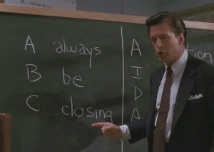 The ABC's of Sales from Glengarry Glen Ross