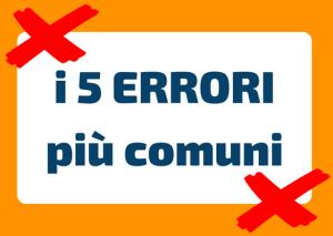 errori diffusi italiano