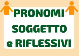 pronomi riflessivi italiano