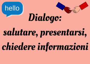 Italian how to introduce yourself