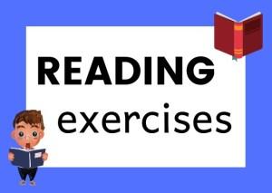 reading exercises Italian