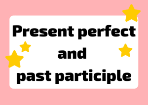 Italian past participle and present perfect