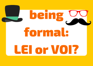 Lei or voi? Formality in Italian