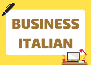 Italian business vocabulary