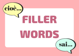 Italian filler words
