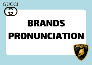 italian brands pronunciation