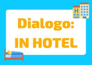 dialogo in hotel italiano
