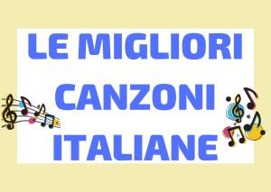 canzoni italiane belle