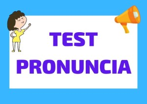 test pronuncia italiano