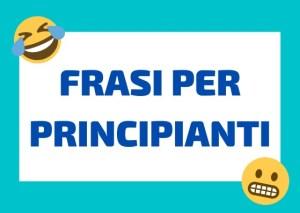 frasi italiano per principianti