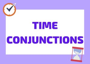Italian time conjunctions