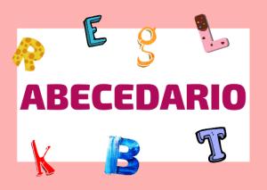 abecedario italiano