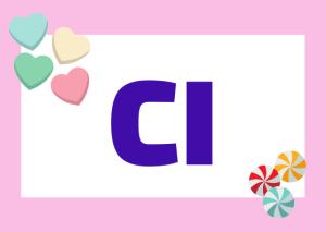 partícula CI en italiano