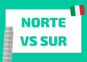 norte vs sur italiano