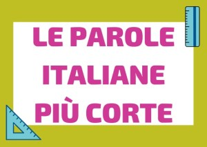 parole italiane corte