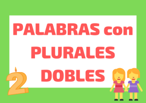 plurales dobles italiano