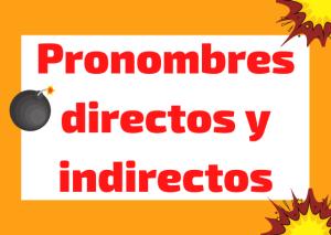 pronombres directos indirectos italiano