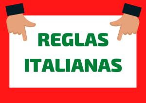 reglas italianas