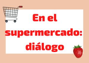 dialogo supermercado italiano