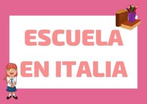 educación en italia