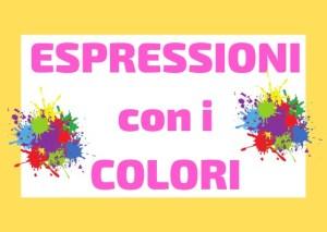 espressioni con i colori italiano