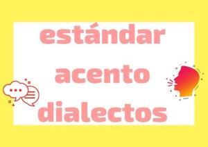 Italian estándar y dialectos