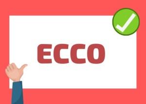 ECCO meaning Italian