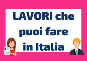 lavori in Italia