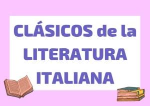 clasicos literatura italiana