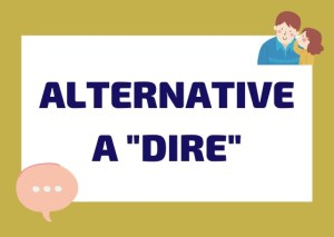 alternative a dire italiano