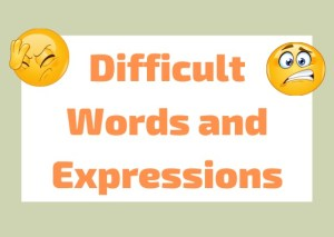 difficult Italian words expressions